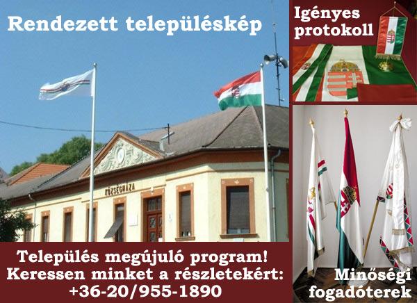 Zászlóweb - zászlók önkormányzatoknak